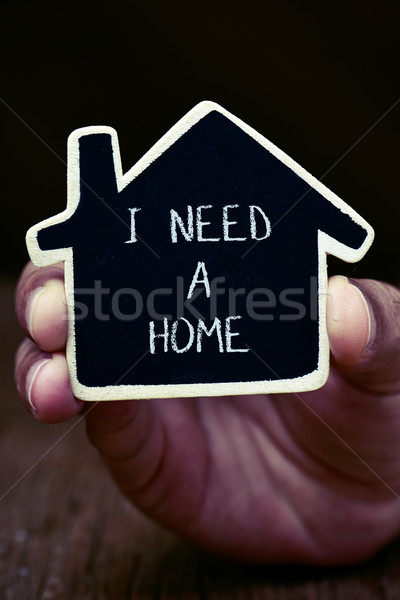 man who needs a home Stock photo © nito