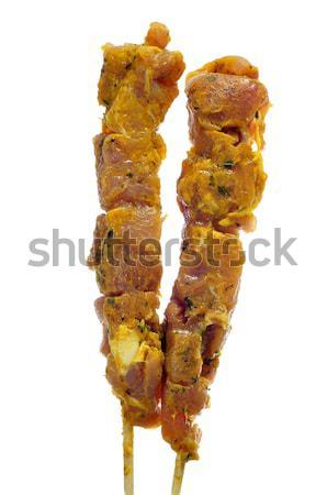 испанский куриные сырой обеда мяса Сток-фото © nito