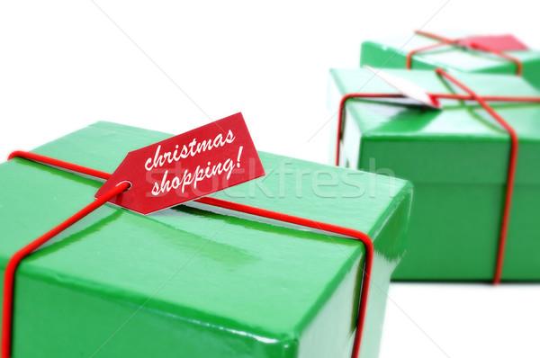 christmas shopping Stock photo © nito