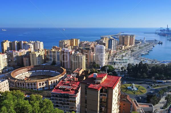 малага Испания район пейзаж Сток-фото © nito