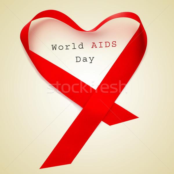 world AIDS day Stock photo © nito