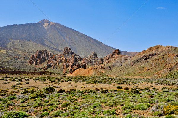 Mount Teide, in Teide National Park, Tenerife, Canary Islands, S Stock photo © nito