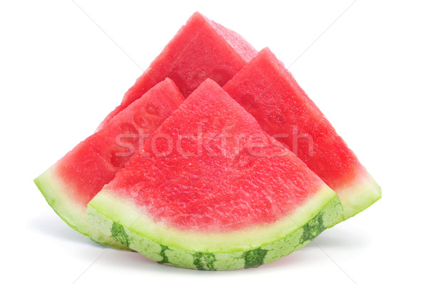 pieces of refreshing watermelon Stock photo © nito
