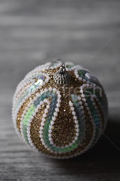 ornamented christmas ball Stock photo © nito