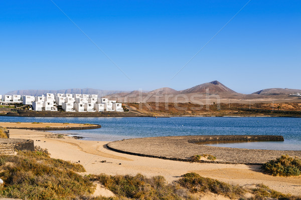 La Santa Beach in Lanzarote, Canary Islands, Spain Stock photo © nito