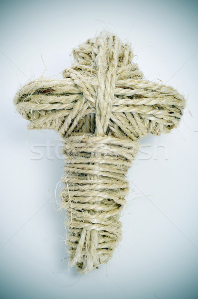 rope cross Stock photo © nito