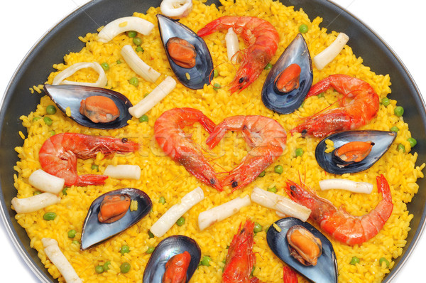 spanish paella Stock photo © nito
