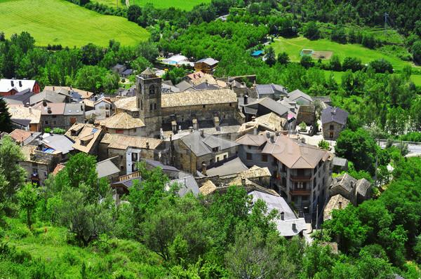 Boltanya, in Huesca, Spain Stock photo © nito