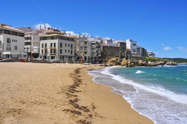 La Platja beach in La Escala, Spain Stock photo © nito