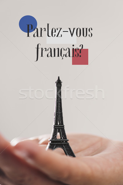 question do you speak French? in French Stock photo © nito