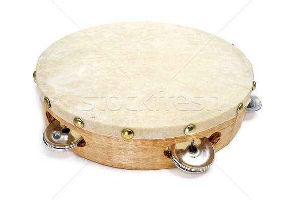 pandereta, spanish tambourine Stock photo © nito