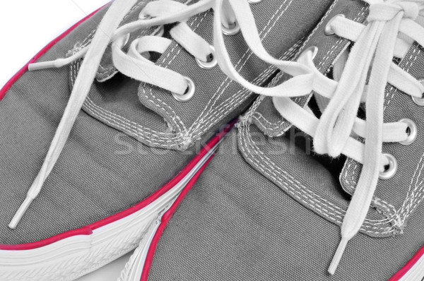 casual canvas sneakers Stock photo © nito