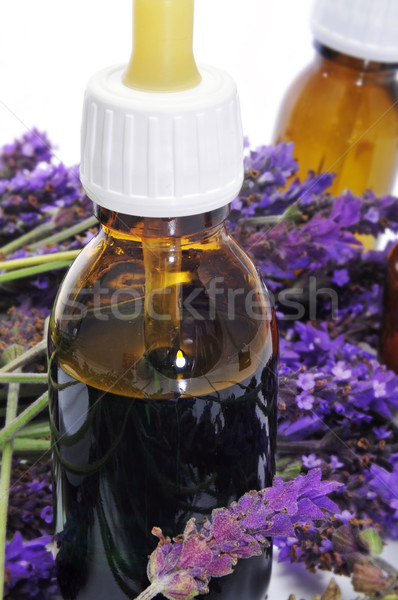Stock photo: natural remedies