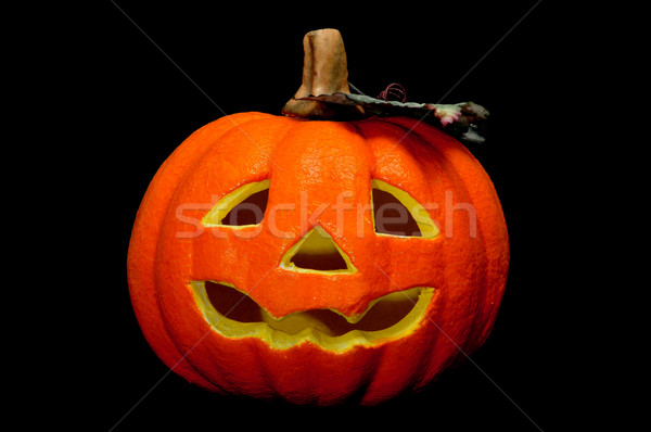 Halloween yüz arka plan ölüm siyah Stok fotoğraf © nito