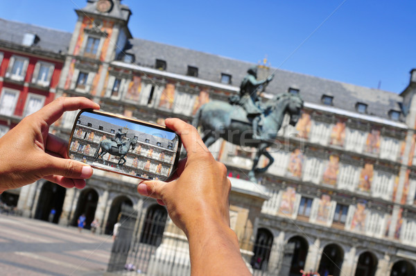 Madrid Espagne touristiques photos la Photo stock © nito