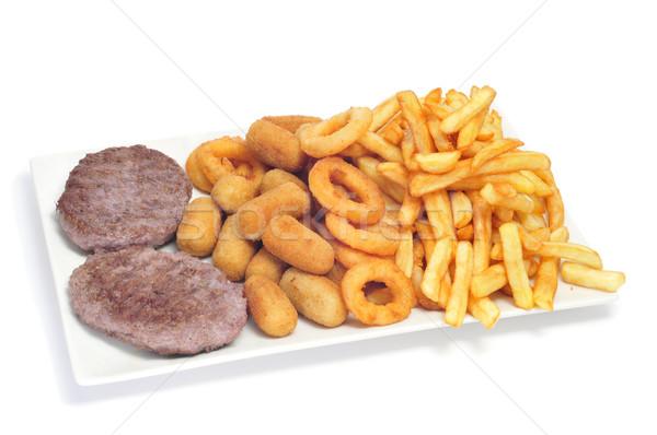 Espanhol combinação branco cozinhar Foto stock © nito