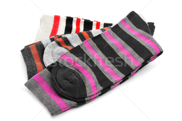 striped socks with different colors Stock photo © nito