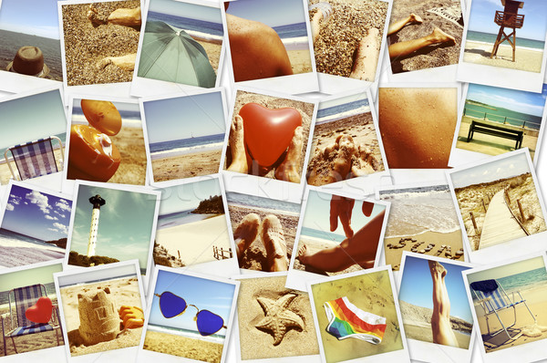 pictures of different summer scenes, shot by myself Stock photo © nito