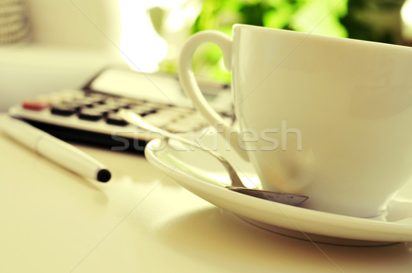 служба Nice атмосфера подробность столе калькулятор Сток-фото © nito