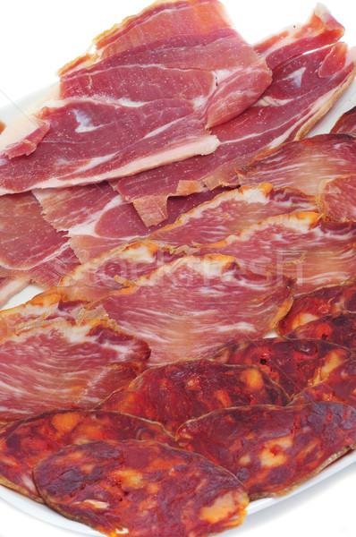 spanish embutido Stock photo © nito