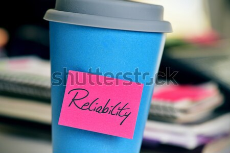 text have a nice day in a cup of coffee or tea Stock photo © nito