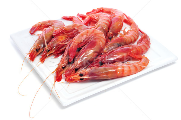 raw shrimps Stock photo © nito