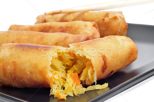spring rolls Stock photo © nito