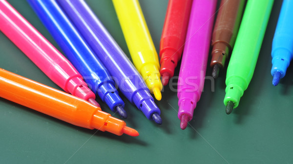 felt-tip pens of different colors Stock photo © nito