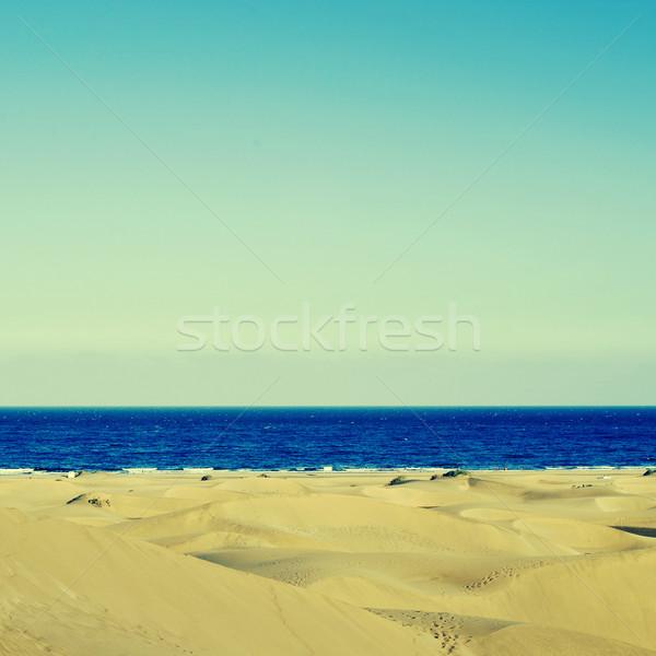 Natural rezerva Spania imagine insulele canare Imagine de stoc © nito