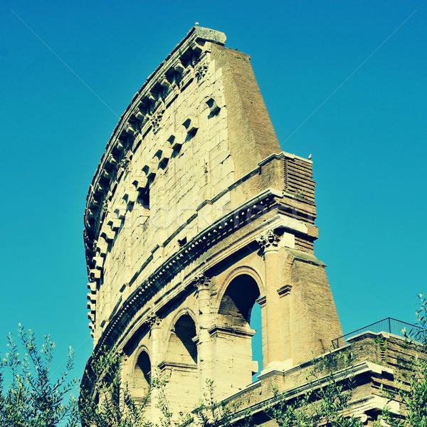 Рим Италия ретро эффект Мир путешествия Сток-фото © nito