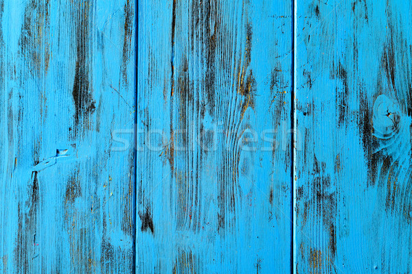 blue rustic wooden background Stock photo © nito