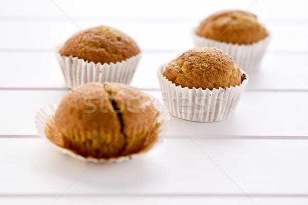 magdalenas, typical spanish plain muffins Stock photo © nito