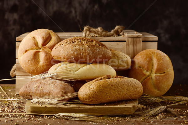 assortment of different bread rolls Stock photo © nito