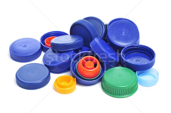 Zdjęcia stock: Plastikowe · śruby · inny · kolory · tle