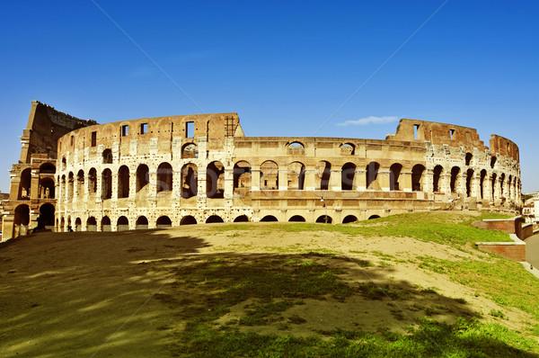 Róma Olaszország kilátás épület város utazás Stock fotó © nito