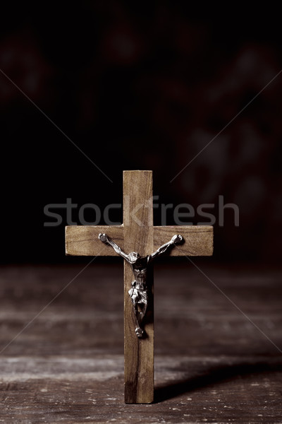 old christian crucifix Stock photo © nito