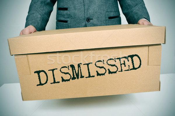 Stock photo: dismissed
