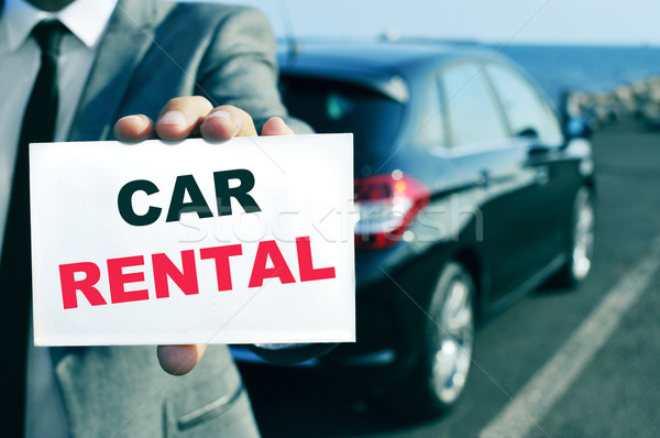 car rental Stock photo © nito