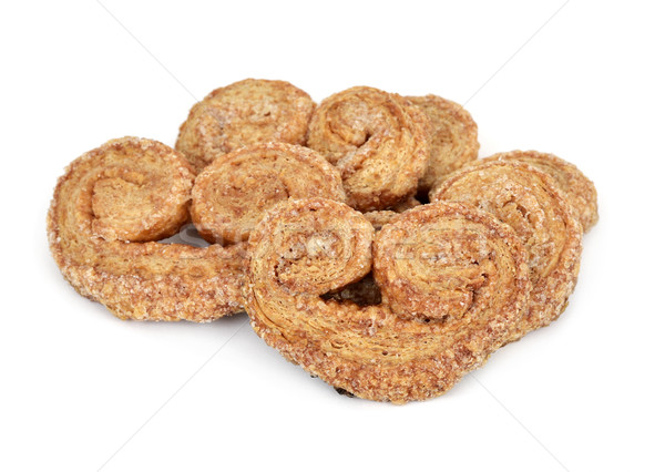palmier pastries made with spelt flour Stock photo © nito