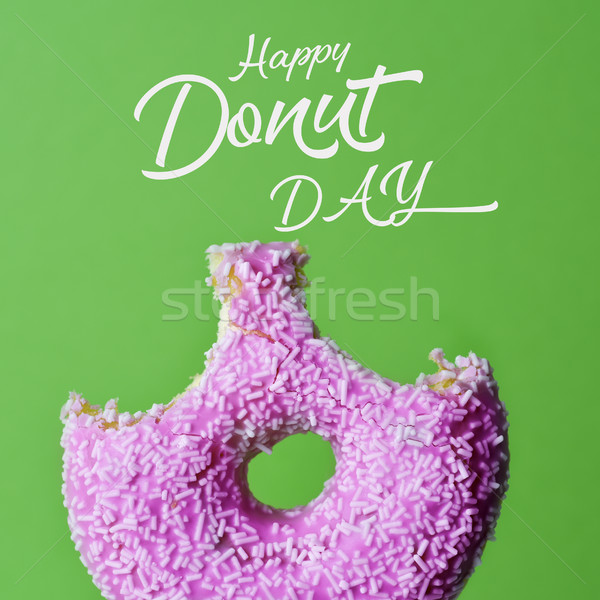 donut and text happy donut day Stock photo © nito