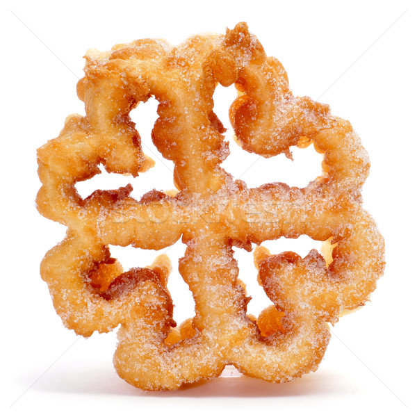 flor frita or flor de pascua, typical spanish flower-shaped dess Stock photo © nito