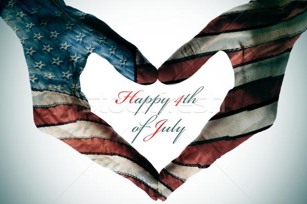 happy 4th of july Stock photo © nito