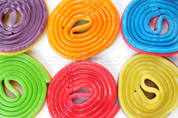 licorice wheels Stock photo © nito