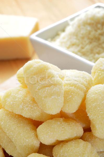 パルメザンチーズ クローズアップ ボウル チーズ パスタ ストックフォト © nito