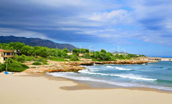 Cala de Sant Jordi in Ametlla de Mar, Spain Stock photo © nito