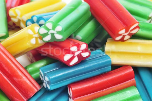 Liquirizia primo piano diverso colori Foto d'archivio © nito
