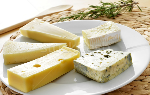 cheese assortment Stock photo © nito