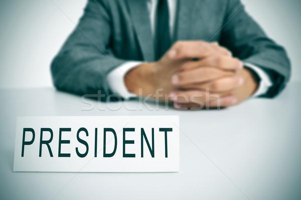 president Stock photo © nito