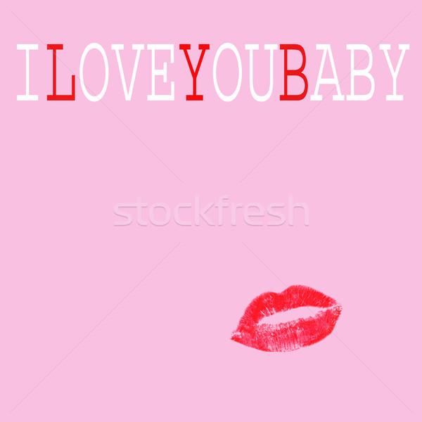 I love you baby Stock photo © nito