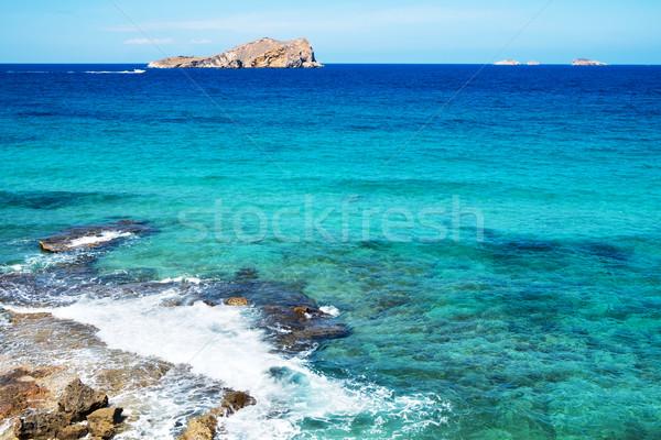 Illa de Espartar island in the Balearic Islands, Spain Stock photo © nito